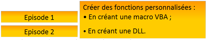 Creation DLL pour VBA