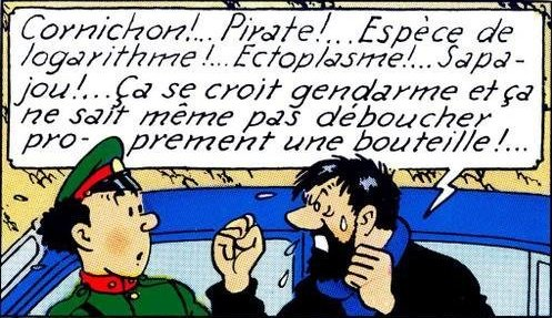capitaine haddock logarithme